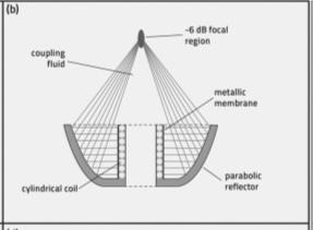 faae351a173 No gerador eletromagnético um pulso de alta voltagem é enviado através de  uma bobina