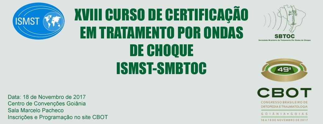XVIII Curso de Certificação de Tratamento por Ondas de Choque