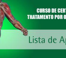 Lista de aprovados 2020 – XXIV Curso de Certificação em Tratamento por Ondas de Choque