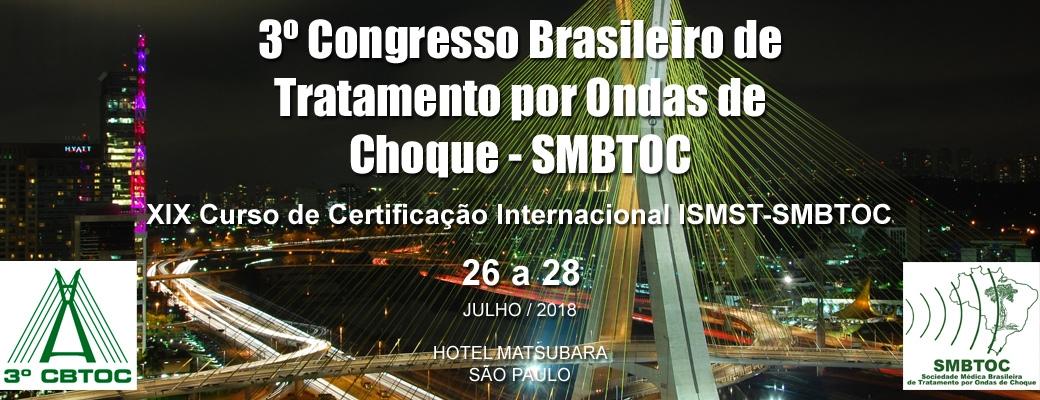 3º Congresso Brasileiro de Tratamento por Ondas de Choque