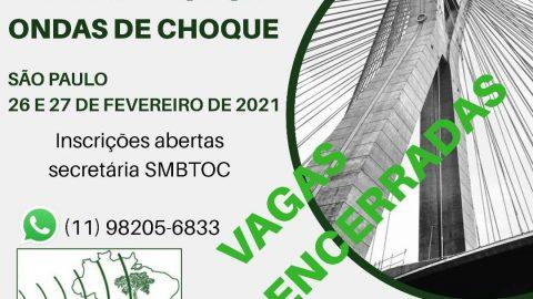 XXV Curso de Certificação em Tratamento por Ondas de Choque